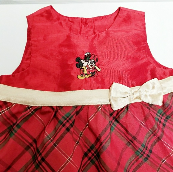Minnie Mouse Christmas Dress.Disney Minnie Mouse Dress 18 Months
